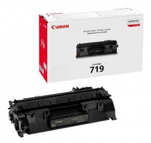 Canon CRG-719, Cartus toner original, Negru, 2100 pagini