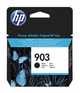 HP 903BK / T6L99AE, Cartus original, Negru, 300 pagini
