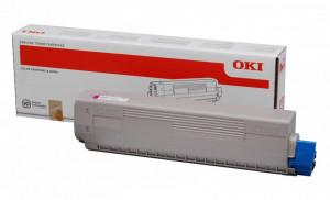 Oki C831M / 44844506, Cartus toner original, Magenta, 10000 pagini