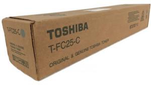 Toshiba TFC25 C, Cartus toner original, Cyan, 26000 pagini