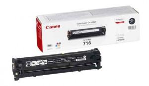 Canon CRG-716BK, Cartus toner original, Negru, 2300 pagini