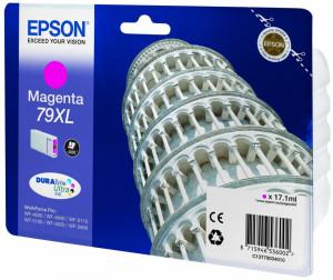 Epson T79XL M / C13T79034010, Cartus original, Magenta, 2000 pagini