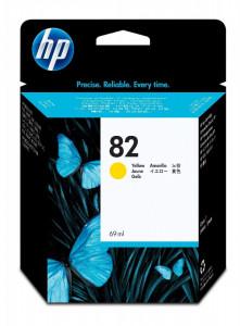 HP 82Y / C4913A, Cartus original, Yellow, 69ml