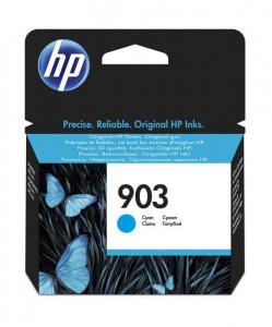 HP 903C / T6L87AE, Cartus original, Cyan, 315 pagini