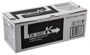 Kyocera TK-580K, Cartus toner original, Negru, 3500 pagini