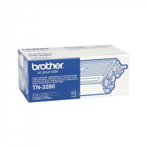 Brother TN-3280, Cartus toner original, Negru, 8000 pagini