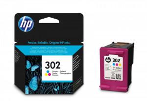 HP 302 / F6U65AE, Cartus original, Color, 165 pagini
