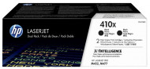 HP 410x / CF410XD, Pachet Cartuse toner originale, Negru, 2x 6500 pagini