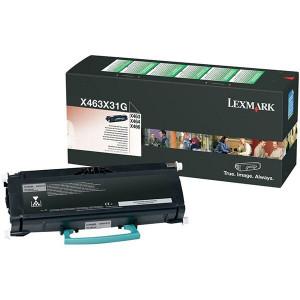 Lexmark X463 / X463X31G, Cartus toner original, Negru, 15000 pagini