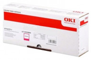 Oki C710M / 44318606, Cartus toner original, Magenta, 11500 pagini