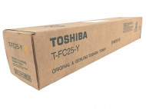 Toshiba TFC25 Y, Cartus toner original, Yellow, 26000 pagini