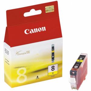 Canon CLI-8Y, Cartus original, Yellow, 420 pagini