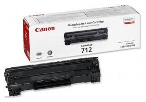 Canon CRG-712, Cartus toner original, Negru, 1500 pagini