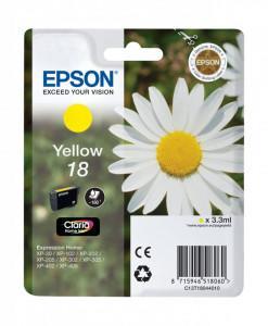 Epson T1804 / C13T18044010, Cartus original, Yellow, 180 pagini
