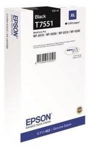 Epson T7551 / C13T755140, Cartus original, Negru, 5000 pagini