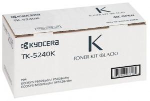 Kyocera TK-5240K, Cartus toner original, Negru, 4000 pagini