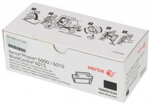 Xerox 6000BK / 6010BK / 106R01634, Cartus toner original, Negru, 2000 pagini