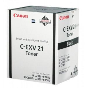 Canon C-EXV21BK, Cartus toner original, Negru, 26000 pagini