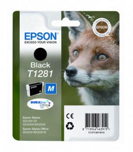 Epson T1281 / C13T12814010, Cartus original, Negru, 190 pagini