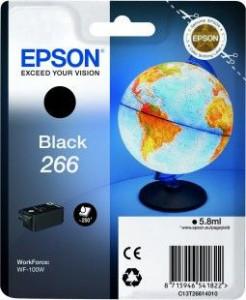 Epson T266 / C13T26614010, Cartus original, Negru, 250 pagini