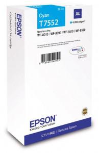 Epson T7552 / C13T755240, Cartus original, Cyan, 4000 pagini