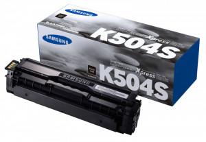 Samsung CLT-K504S, Cartus toner original, Negru, 2500 pagini
