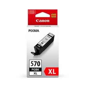 Canon PGI-570XL BK, Cartus original, Negru, 500 pagini