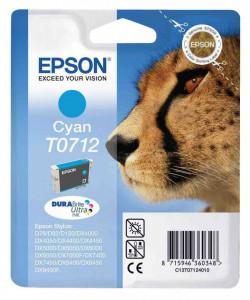 Epson T0712, Cartus original, Cyan, 495 pagini