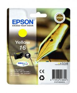 Epson T1624 / C13T16244010, Cartus original, Yellow, 165 pagini