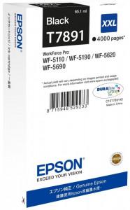 Epson T7891 / C13T789140, Cartus original, Negru, 4000 pagini