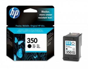 HP 350 / CB335EE, Cartus original, Negru, 200 pagini