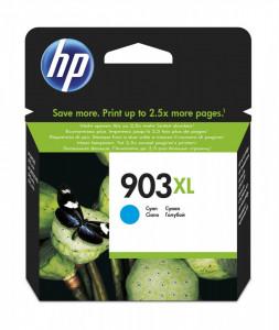 HP 903XL C / T6M03AE, Cartus original, Cyan, 825 pagini