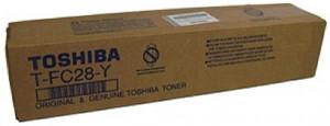 Toshiba TFC28 Y, Cartus toner original, Yellow, 24000 pagini