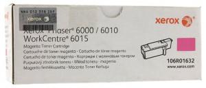 Xerox 6000M / 6010M / 106R01632, Cartus toner original, Magenta, 1000 pagini