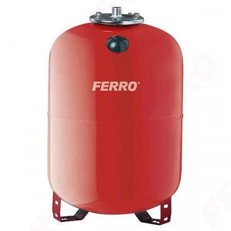 Vas de expansiune Ferro, 100L pentru apa calda, incalzire centrala cu montaj pe pardoseala