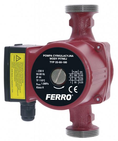 Pompa circulatie pentru apa potabila 25-60 180 - 0202W