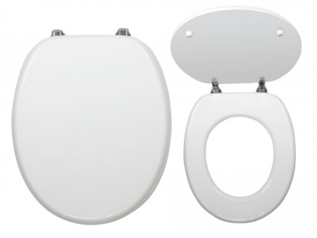 Capac WC din MDF, alb