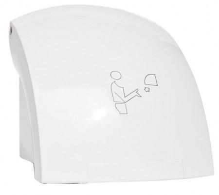 Uscator de maini cu senzor Ferro Titania Hotel, 1500 W, alb, IPX1
