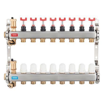 DISTRIB/COLECTOR 1`` INOX INC.PARD. 8 CAI FARA EUROCON