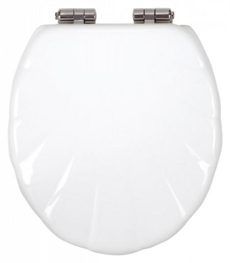 Capac WC soft-close din duroplast Lyra, alb