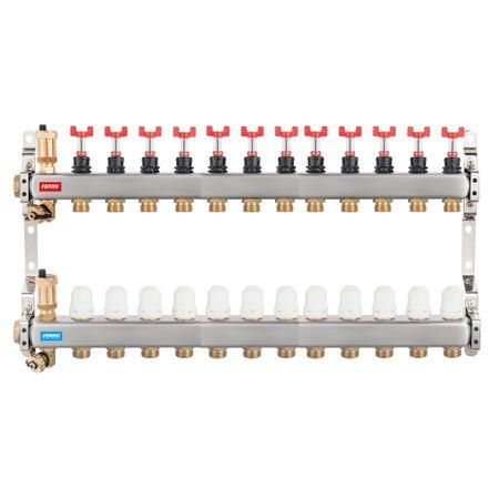 DISTRIB/COLECTOR 1`` INOX INC.PARD. 12 CAI FARA EUROCON