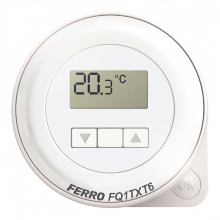 Termostat electronic de ambianta programabil FQ1TXT6 fara fir