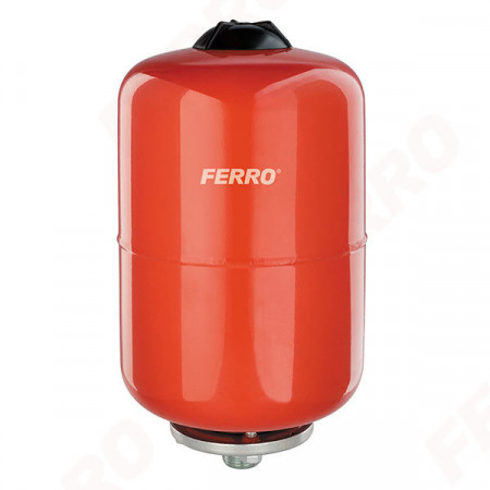 Vas de expansiune Ferro, 18L pentru apa calda, incalzire centrala cu montaj suspendat