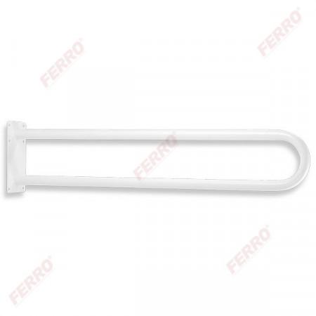 Maner sustinere dublu, drept 550 mm Metalia Help, alb
