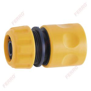 """Conector din plastic pentru furtun de gradina 3/4"""""""