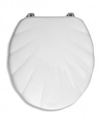 Capac WC din MDF Lyra, alb