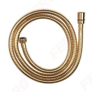 Furtun flexibil dus conic, metalic 150 cm, auriu