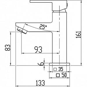 Pachet 2 Baterii Ferro Zicco: Cada/Dus, Lavoar, crom Promo