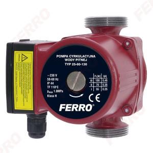 Pompa circulatie pentru apa potabila 25-60 130 - 0204W