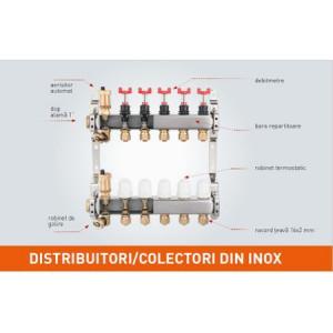 DISTRIB/COLECTOR 1`` INOX INC.RAD. 7 CAI FARA EUROCON